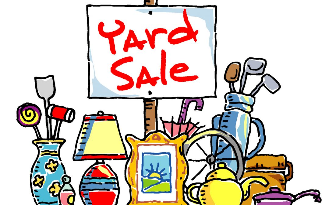 Declutter by Holding a Garage Sale